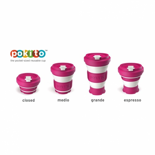 Pokito Pop Up Cup Raspberry