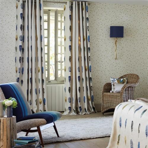 Harlequin Limosa Lagoon/Zest/Gooseberry Curtain Fabric 120339