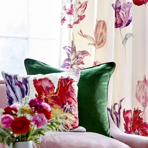 Sanderson Tulipomania Botanical Fabric 226583