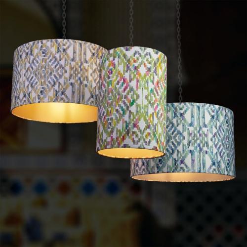 Fibre Naturelle Marrakesh Ochre Curtain Fabric MARR/01