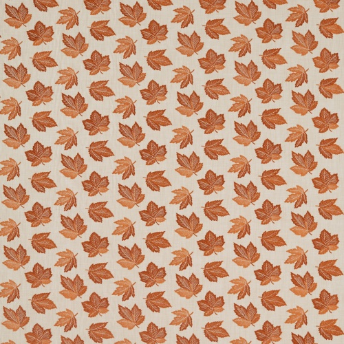 Sanderson Flannery Russet Curtain Fabric 236728