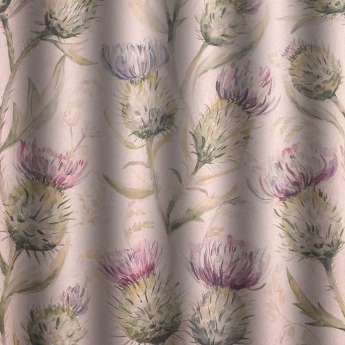 Voyage Thistle Glen Spring Curtain Fabric