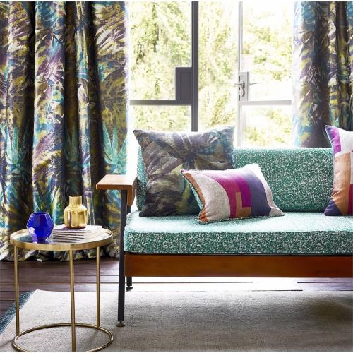 Harlequin Celadon Marine/Plum/Zest Curtain Fabric 132871