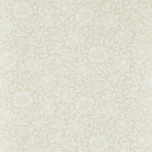 Morris & Co Mallow Cream Ivory Wallpaper 216676