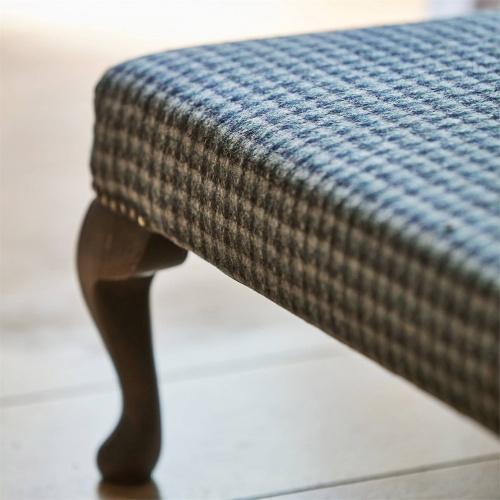 Sanderson Findon Indigo/Stone Fabric 236750