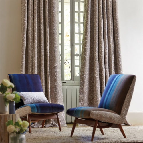 Harlequin Java Stone/Charcoal Curtain Fabric 131514