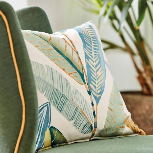 Scion Hikkaduwa Tangerine Fabric 120893