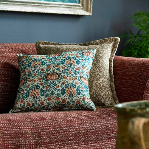 Morris & Co Purleigh Russet Fabric 236544