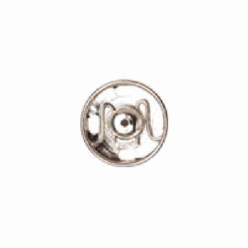 Nickel Sew-on Snap Fasteners | 6mm