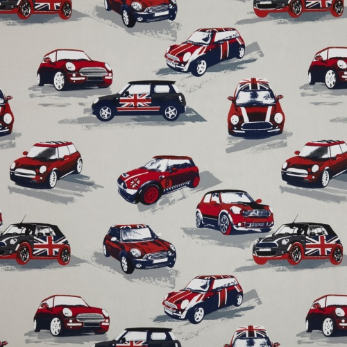Prestigious Moto Rally Curtain Fabric