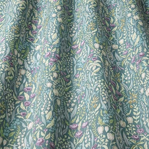 Swatch Box Kelmscott Jade Curtain Fabric