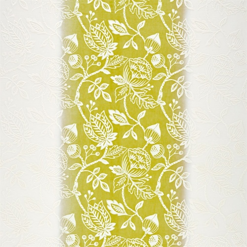 Harlequin Colette Chartreuse Curtain Fabric 131569