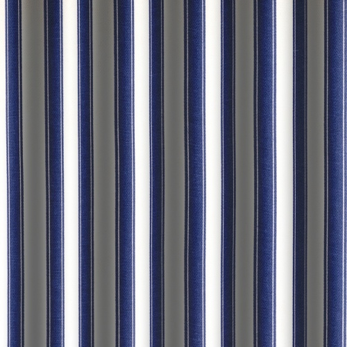 Gordon Smith Ticking Blue Curtain Fabric