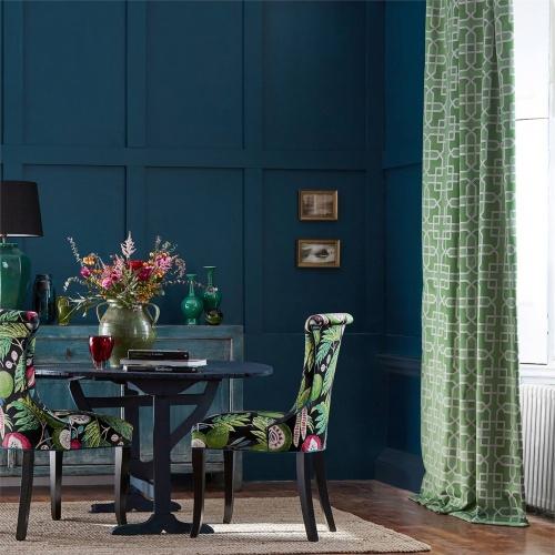Sanderson Hampton Weave Botanical Green Fabric 236773