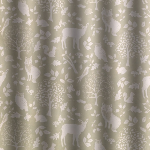Gordon Smith Outback Green Curtain Fabric