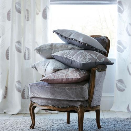 Harlequin Abella French Grey Curtain Fabric 131563