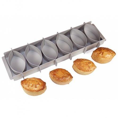 Simple Simon Individual Oval Pie Set