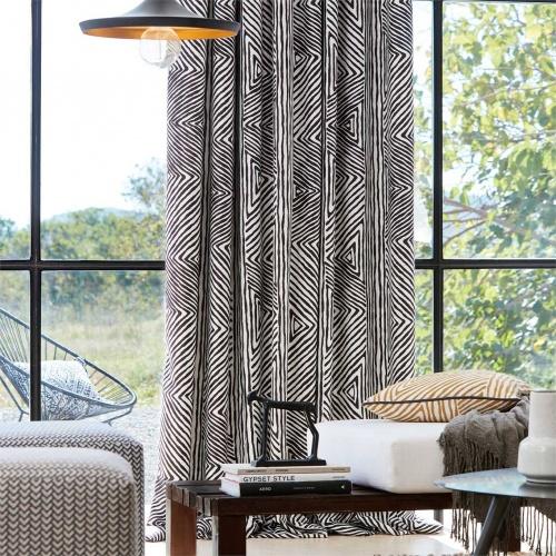 Harlequin Zamarra Zebra Curtain Fabric 133058