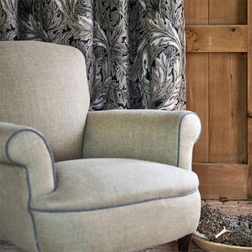 Morris & Co Pure Blesi Weave Horned Poppy Fabric 236604