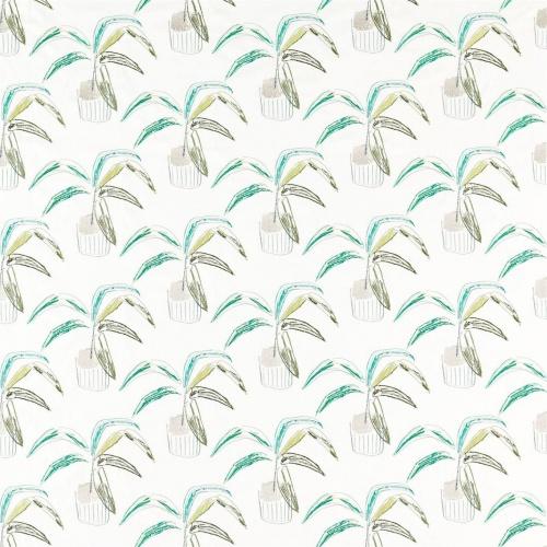 Scion Crassula Juniper/Lime/Moss Fabric 132860