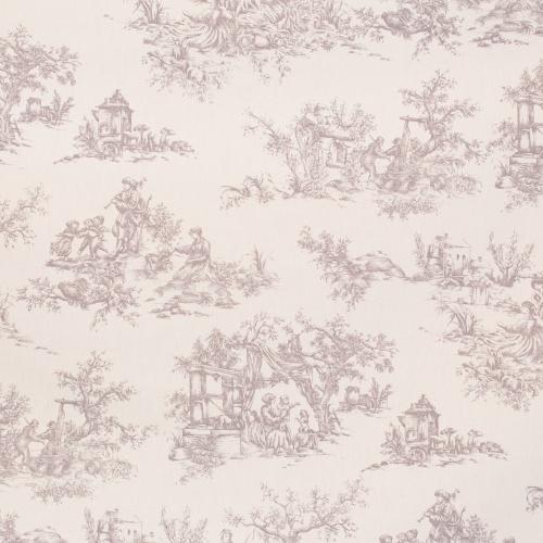Gordon Smith Toile Grey Fabric