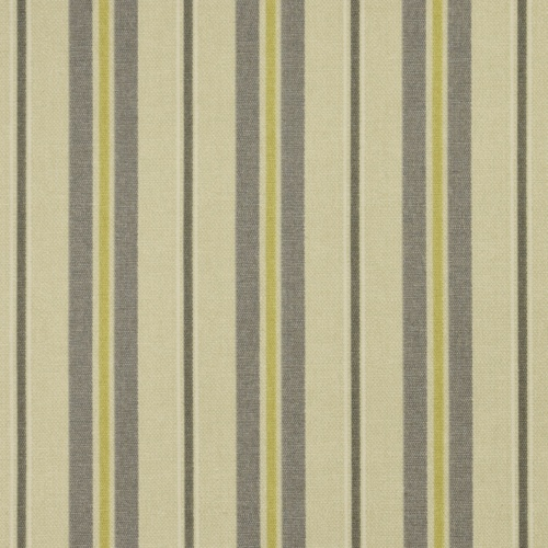 Gordon Smith Tweet Stripe Grey Curtain Fabric