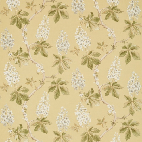 Sanderson Chestnut Tree Seaspray/Peony Fabric 225516