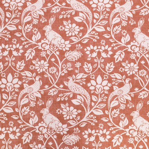 Swatch Box Heathland Copper Curtain Fabric