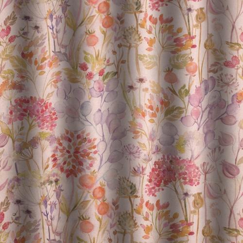 Voyage Hedgerow Autumn Linen Curtain Fabric