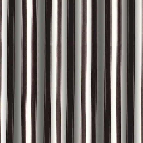Gordon Smith Ticking Black Curtain Fabric