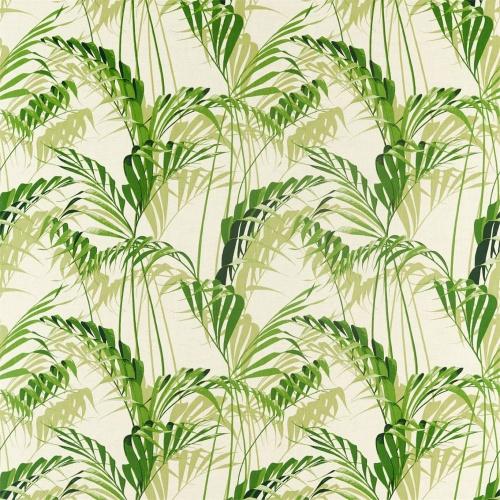 Sanderson Palm House Botanical Green Fabric 226567