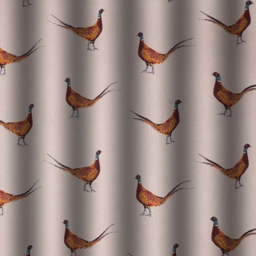 Gordon Smith Pheasant Curtain Fabric