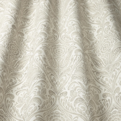 Swatch Box Hathaway Natural Curtain Fabric