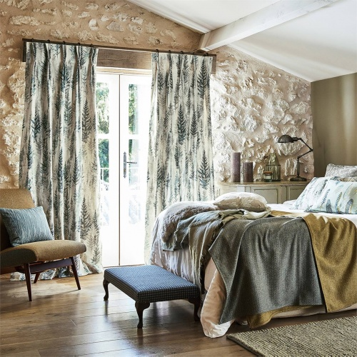 Sanderson Juniper Pine Forest Curtain Fabric 226534