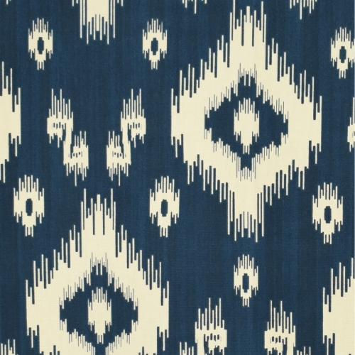 Gordon Smith Acalan Indigo Curtain Fabric