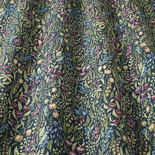 Swatch Box Kelmscott Jewel Curtain Fabric