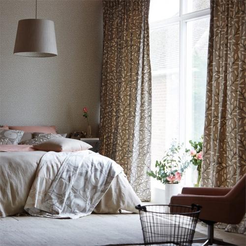 Scion Oulu Mink/Pewter/Pumice Curtain Fabric 131534