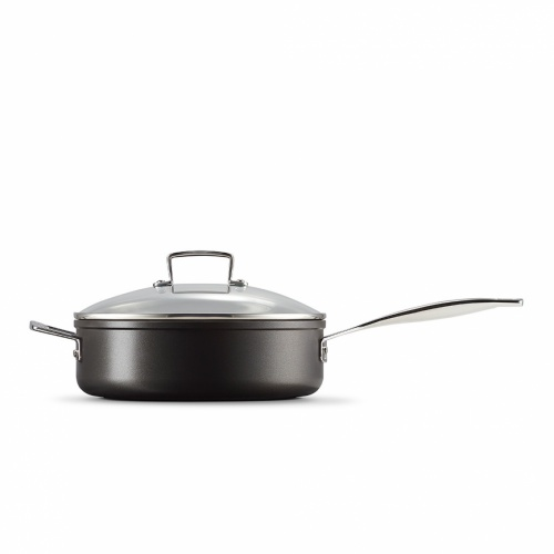 Le Creuset NEW Toughened Non-Stick 26cm Saute Pan & Glass Lid