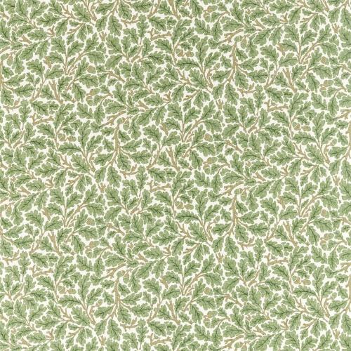 Morris & Co Oak Forest/Cream Fabric 226606