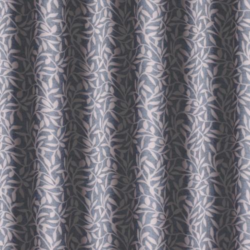 Gordon Smith Leaf Duck Egg Curtain Fabric