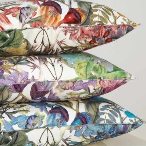 Fibre Naturelle Chelsea Profusion Curtain Fabric