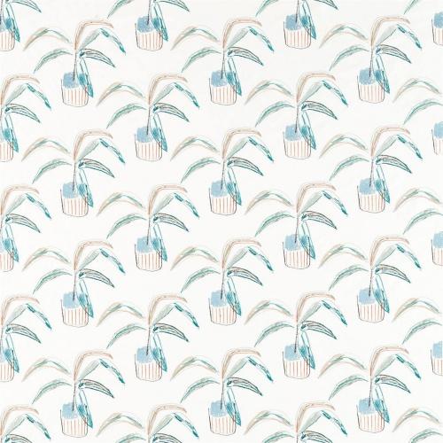 Scion Crassula Marine/Tangerine/Mint Fabric 132861