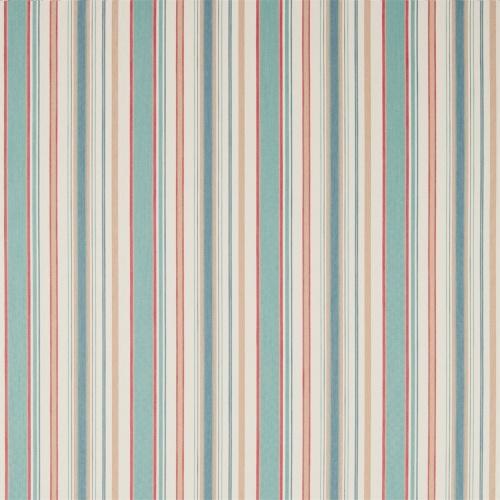 Sanderson Home Dobby Stripe Brick Curtain Fabric 235896