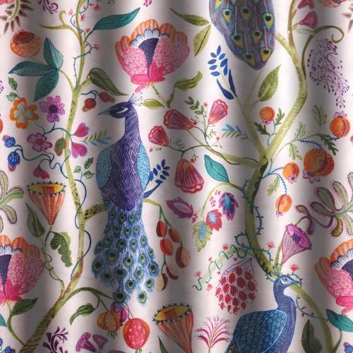 Voyage Barabadure Summer Ecru Curtain Fabric