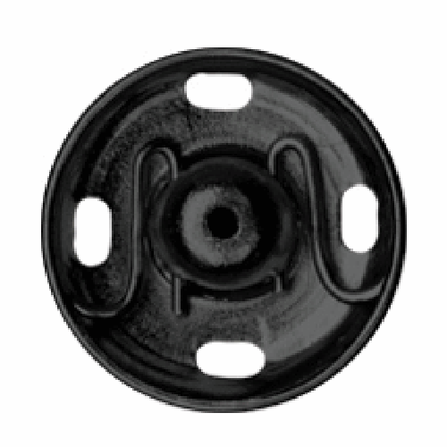 Black Sew-on Snap Fasteners | 15mm