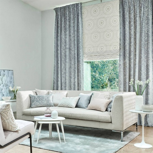 Harlequin Dentella Powder Blue Curtain Fabric 132678