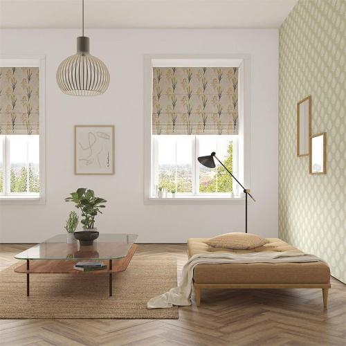 Scion Kinniya Amber Fabric 133209