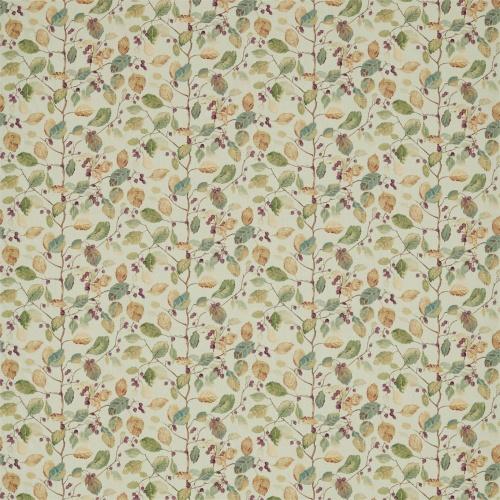 Sanderson Woodland Berries Bayleaf/Fig Fabric 225529