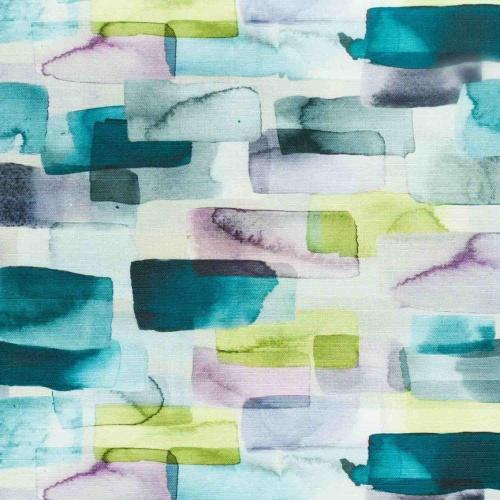 Voyage Kampala Violet Curtain Fabric