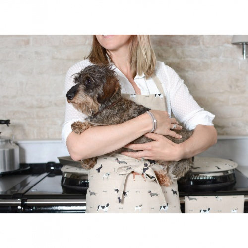 Sophie Allport Woof Round Hob Cover